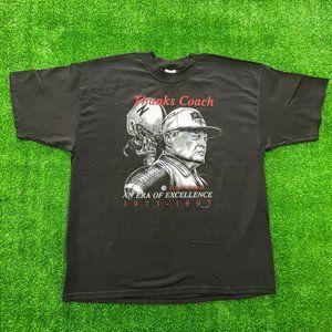 Nebraska Football Vintage Thanks Coach Osborne XXL